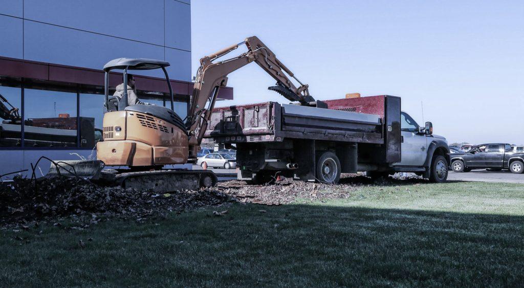 Heavy Drop Side Contractor Body