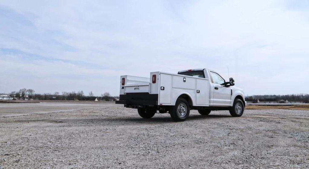 Aluminum Service Body Ford