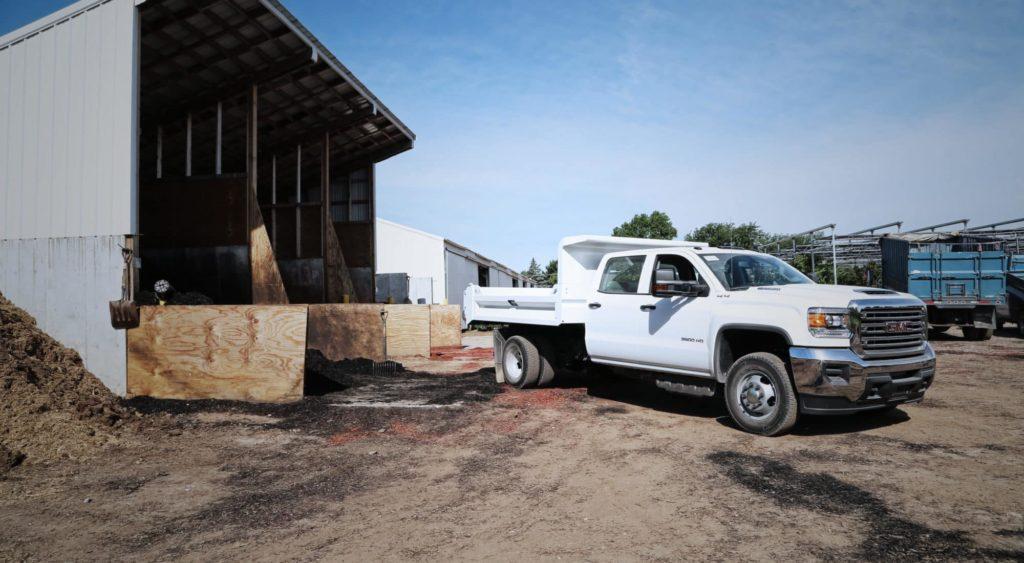 GM Drop Side Dump Body