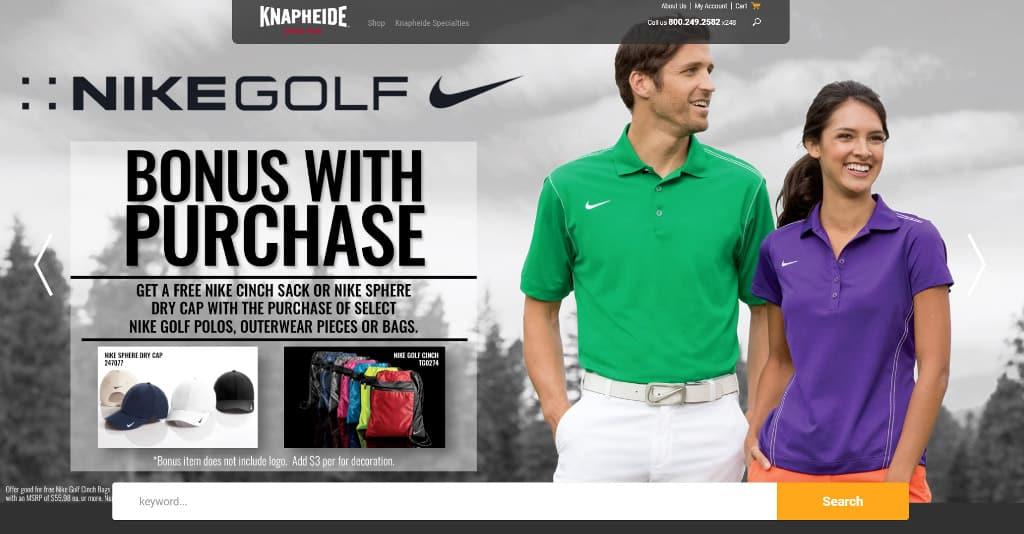Shop Knapheide Gear Online - Nike Golf Bonus with Purchase