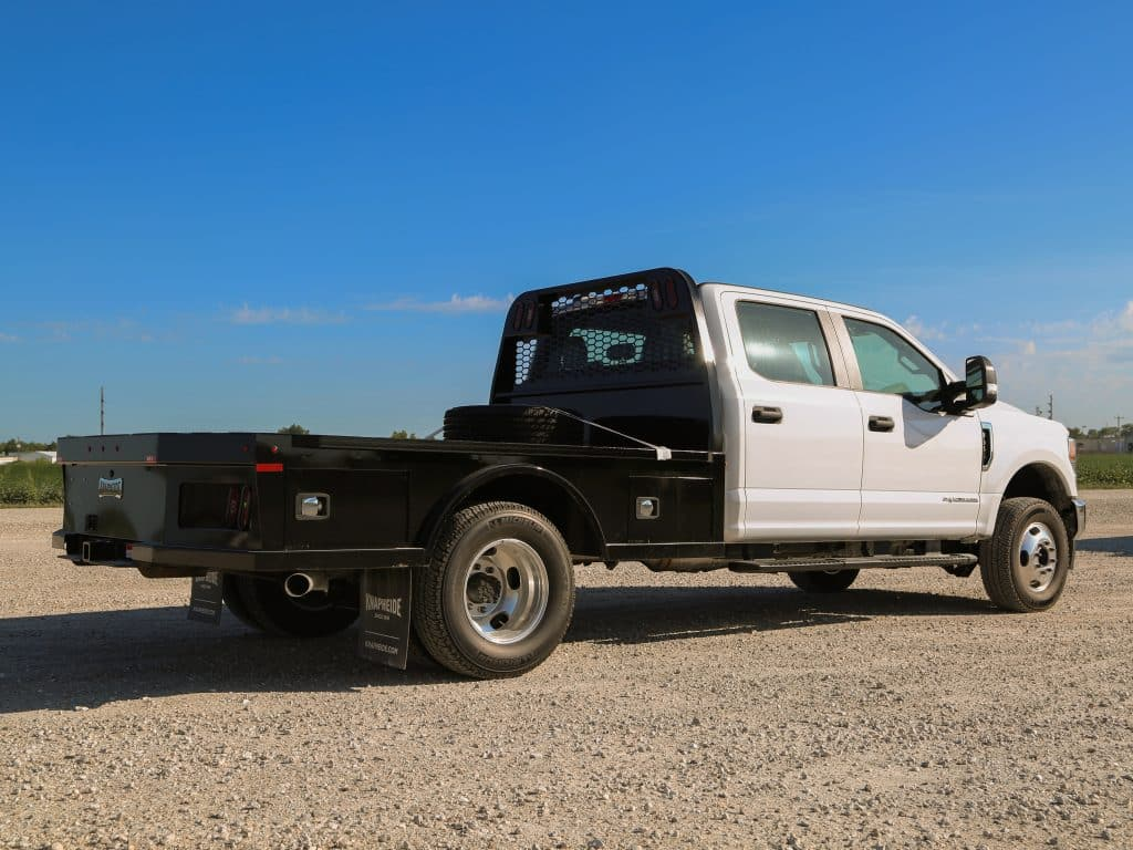 Gooseneck PGNC96 on a Ford