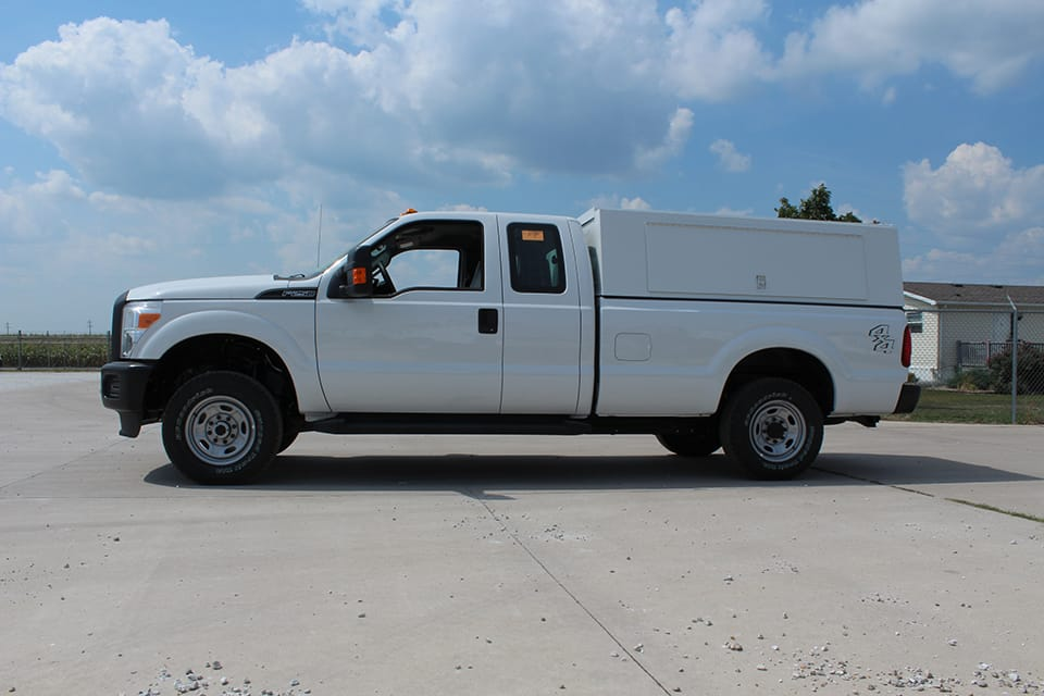 KnapKap HDS on a Ford F-250 extended cab.