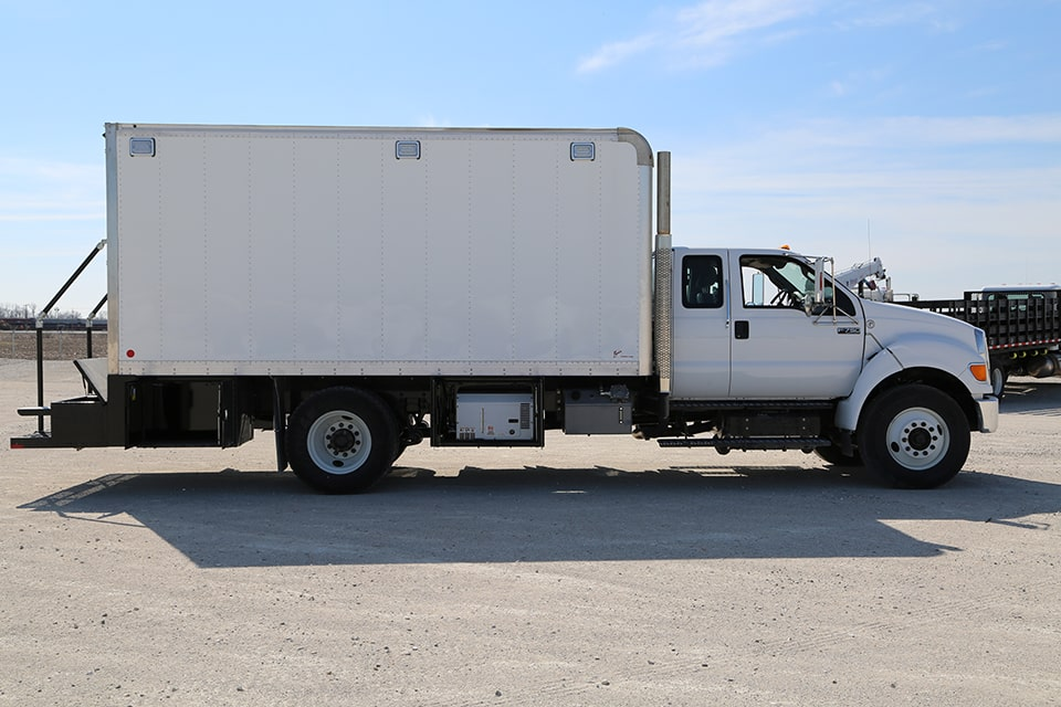 KLT1 Lube Truck on a Ford F-750