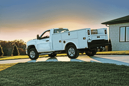 KNAPHEIDE UNVEILS ALL NEW ALUMINUM SERVICE BODY AND PLATFORM BODY  AT THE WORK TRUCK SHOW