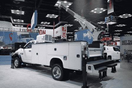 Knapheide KMT1 Mechanics Truck Walk Around-2016 Work Truck Show
