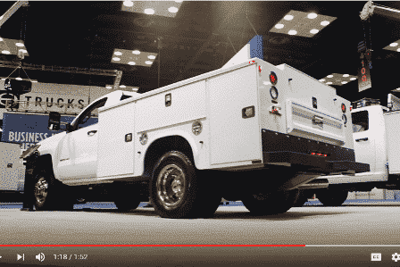 Knapheide Service Body Walk Around - 2016 WORK TRUCK SHOW