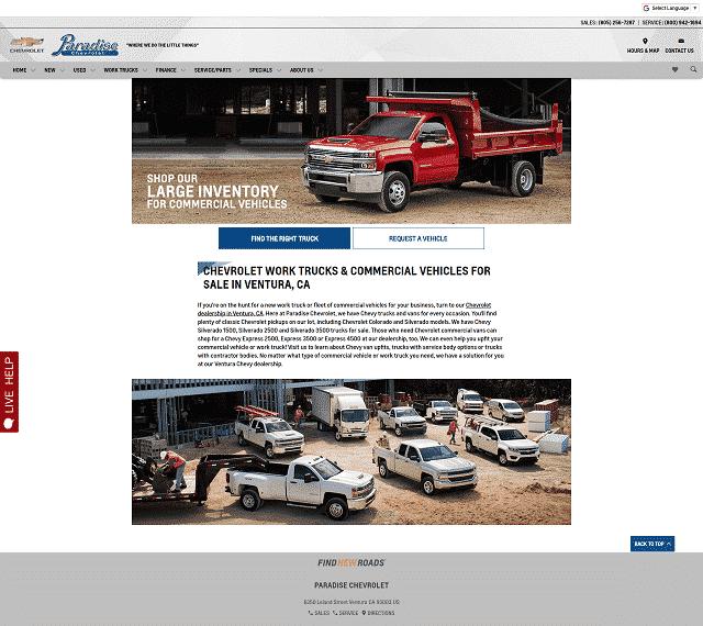 Dealer Website
