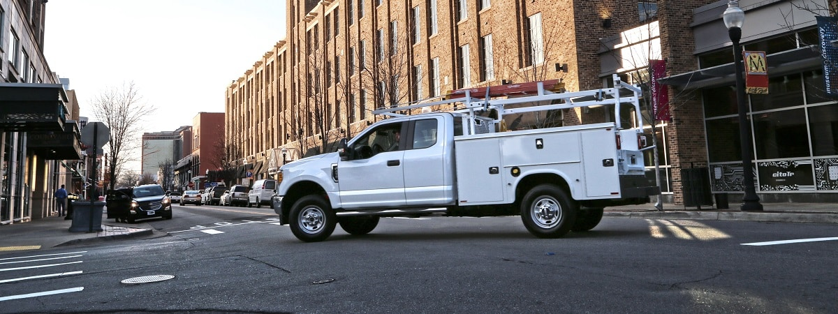 Work Truck Safe Driving Tips