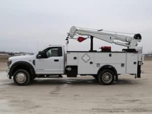 Fleet Rental Crane Body Mechanic Truck Ford (5)