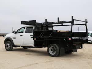 Infrastructure Concrete Flatbed Body Ram (2)
