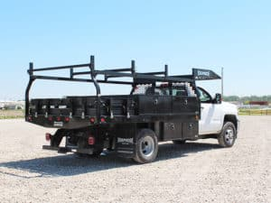 Infrastructure Contractor Flatbed Body Chevy (2)