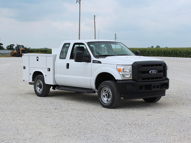 Standard Service Body on Ford