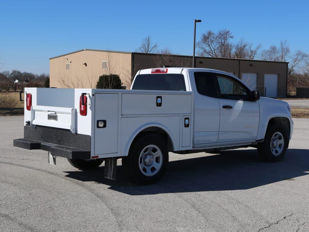 Aluminum Service Body on Chevrolet Colorado