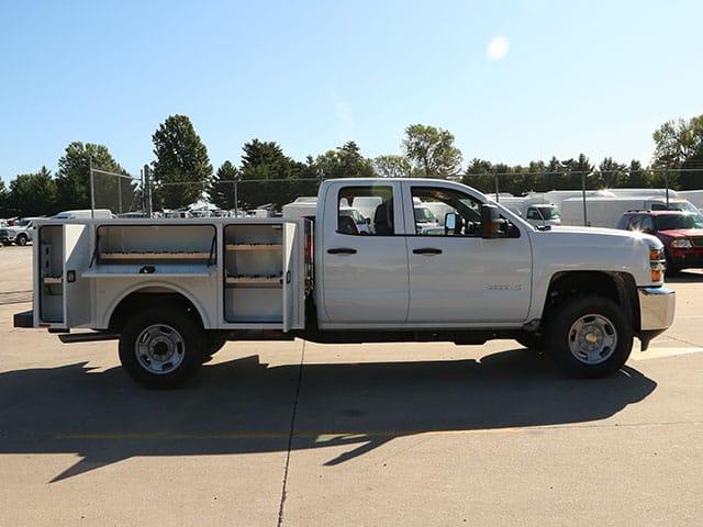 Aluminum Service Body on GM (Chevrolet)