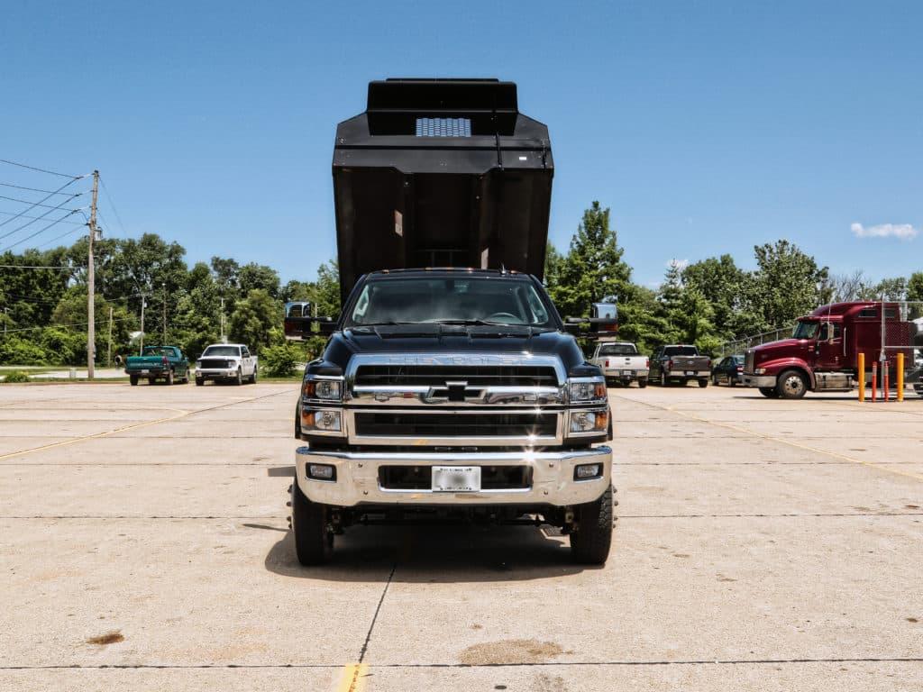 Drop Side Dump Body on GM (Chevrolet)