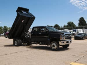 Drop Side Dump Bed Chevrolet