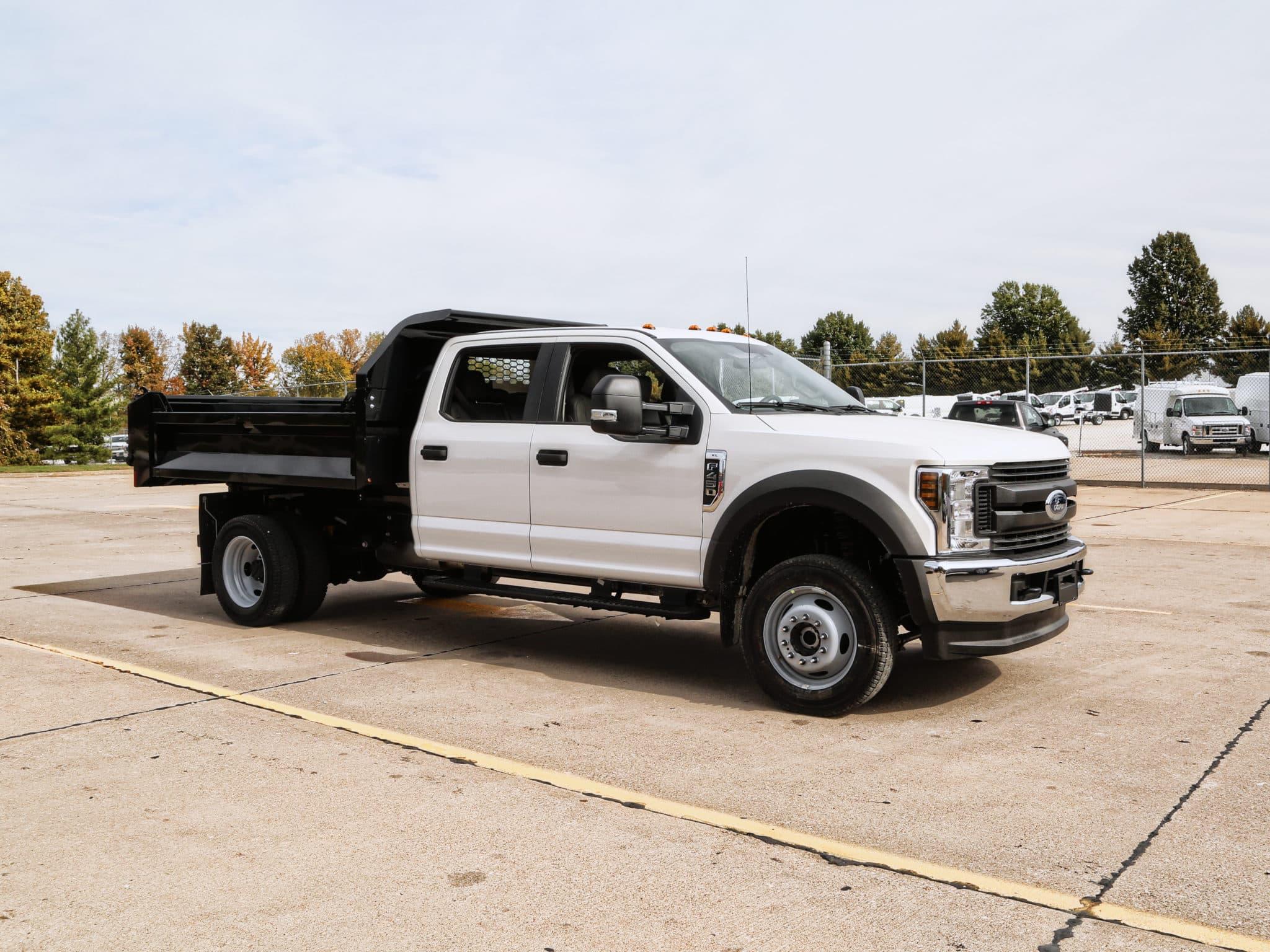 Drop Side Dump Body on Ford