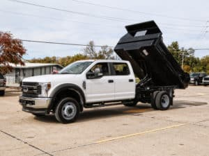 Drop Side Dump Bed Ford