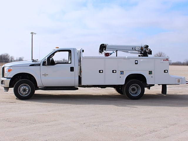 KMS16 Mechanics Truck Body on Ford