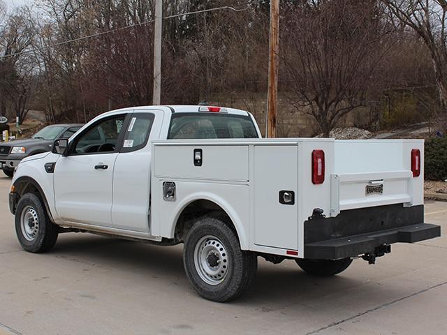 Aluminum Service Body on Ford Ranger